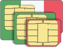 Italy data SIM card 10GB