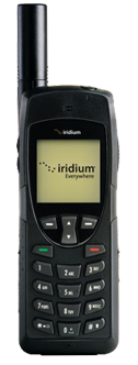 Iridium satellite phone rental